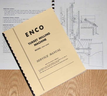 enco milling machine parts