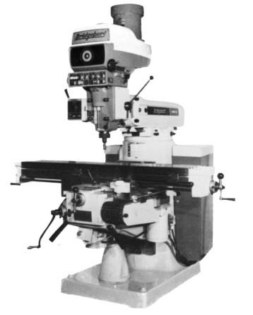 Bridgeport Series 1 Milling Machine Full Manual – Blue ...