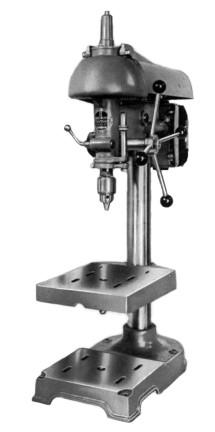 """WALKER TURNER 900 Series 15"""" Drill Press Operator's ..."""