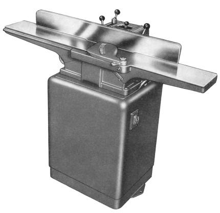 "Powermatic model 50 6"" jointer instructions & parts manual 1970."